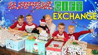 Christmas Comes Early! Huge Surprise Gift Exchange!