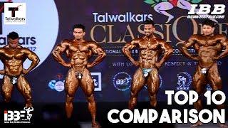 Top 10 Comparison at Talwalkar Classic 2018