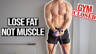 How To Get SHREDDED **WITHOUT The GYM**