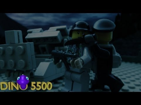 Lego Call of Duty - The Eder Dam