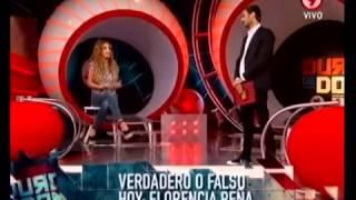 Duro de Domar -  Verdadero / Falso:Florencia Peña parte 1  18 11 11