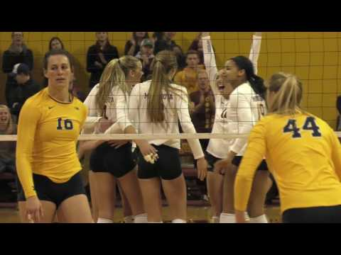 2016 Gopher Volleyball Year in Review
