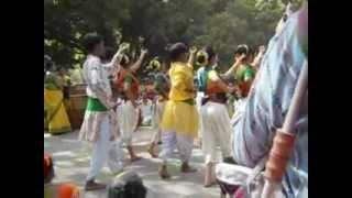 Basanta Utsav - Basanta Utsab at Santiniketan 2012
