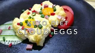 Cloud Eggs : Keto diet