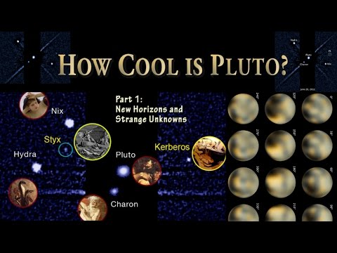 Pluto: Strange Unknowns & New Horizons - Part 1 -