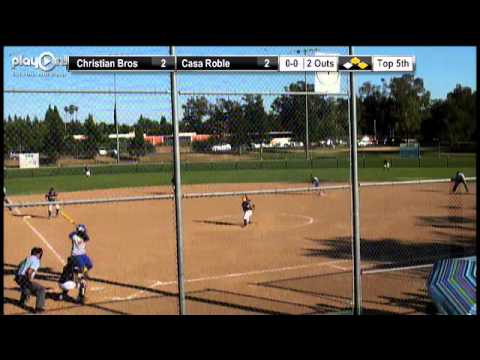 2013 CIF-SJS Division II Softball Final - Christian Brothers vs. Casa Roble