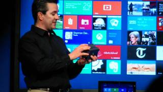 Windows 8 on ARM Consumer Preview Mobile World Congress 2012 keynote presentation highlights