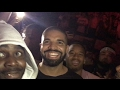 Drake jumps in crowd & moshs at Travis Scott in Portland, Oregon! With 600breezy n P reign -