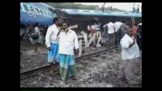 Arakkonam - Tamil Nadu train accident 3 killed, 100 injured in derailment near Arakkonam