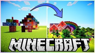 Building a House Using EVERY Block!