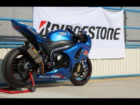 Bridgestone V-01 Slick Test