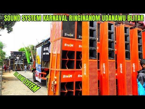 DERETAN SOUND SYSTEM YANG HADIR DI KARNAVAL RINGINANOM UDANAWU BLITAR 09-12-18