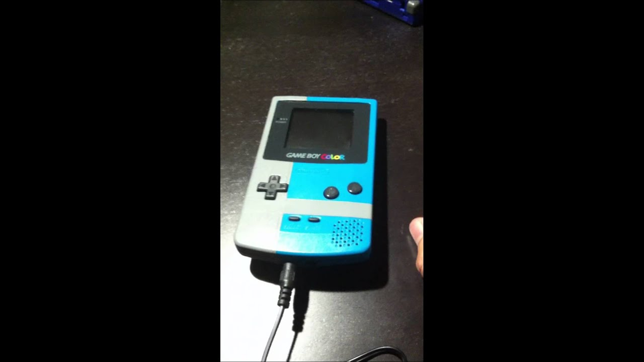 Gameboy Color Built In Rechargeable Battery Mod Youtube