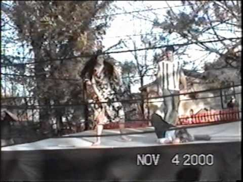 GBHCW - Brawl in the Fall - Teaki vs The Kat - Evening Gown Match