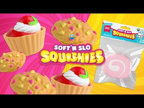 Soft'n Slo Squishies from ORB! | A Toy Insider Play by Play