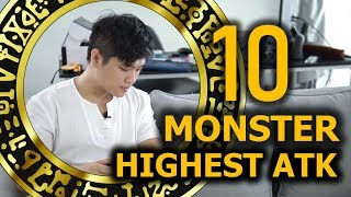 Top 10 highest ATK Yugioh Monster | M2DA