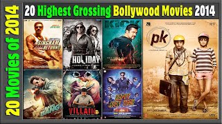 Top 20 Bollywood Movies Of 2014 | Hit or Flop | 2014 की बेहतरीन फिल्में | with Box Office Collection