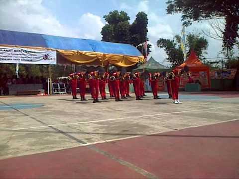 Tari Komando PASHEMAN'90 di LJKI Gebyar SMAN Situraja, Sumedang 2015