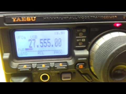 FT 897 mesure puissance HF avant modif RCC