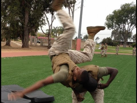 USMC Marine Corps Martial Arts (MCMAP) MCAS Miramar edited version
