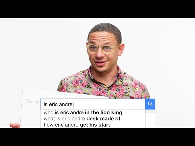 Eric Andre Answers the Web39s Most Searched Questions  WIRED