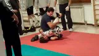 MMA fight - JKD