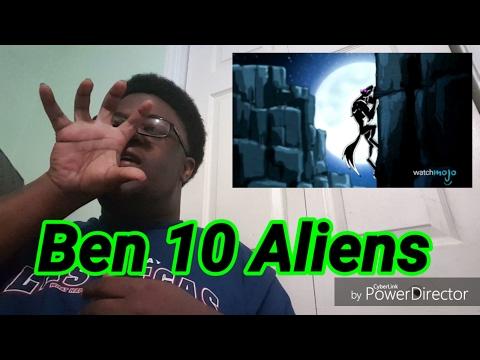 Top 10 Coolest Ben 10 Aliens Reaction Watchmojo