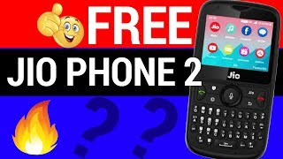 How to Get JIO PHONE 2 FREE? JIO PHONE 2 Specs, Booking...