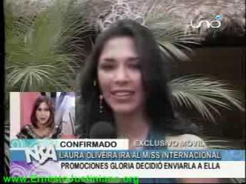 Laura Olivera representará a Bolivia en el Miss Internacional VIVA BOLIVIA UNIDA CARAJO!!!