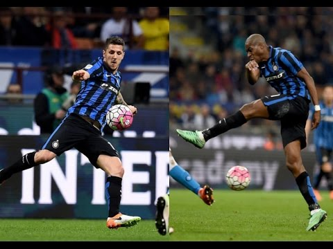 Stevan Jovetić And Geoffrey Kondogbia vs Napoli(16/04/2016)15-16 HD 720p by轩旗