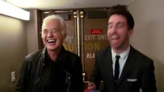 Jimmy Page Grades other Guitarists  out of 10.