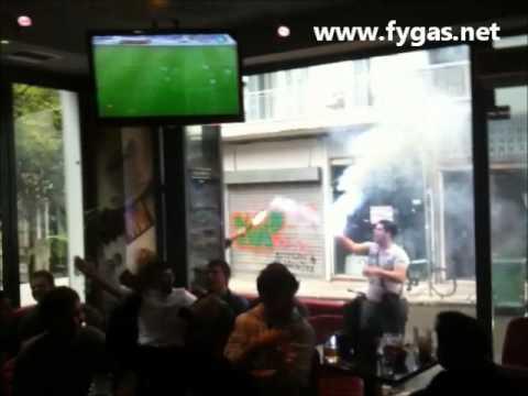 Panigirismoi Apollon Salonica Fans Meta Tin Prokrisi Ston Teliko video