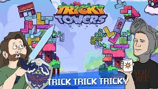 Tricky Towers Nintendo Switch: TETRIS BUT BACKWARDS - Those Gamer Guys