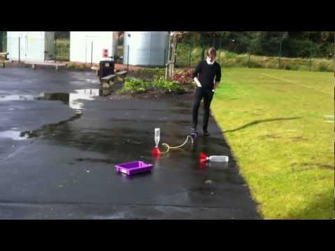 Water Rocket. Calderglen High School