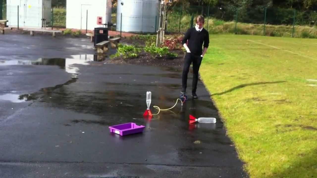 Kinetic And Potential Energy Water Rocket. Caldergl...