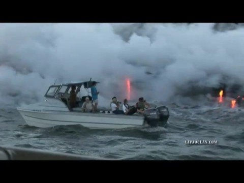 Lava Boat Tour Hawaii - LavaKai