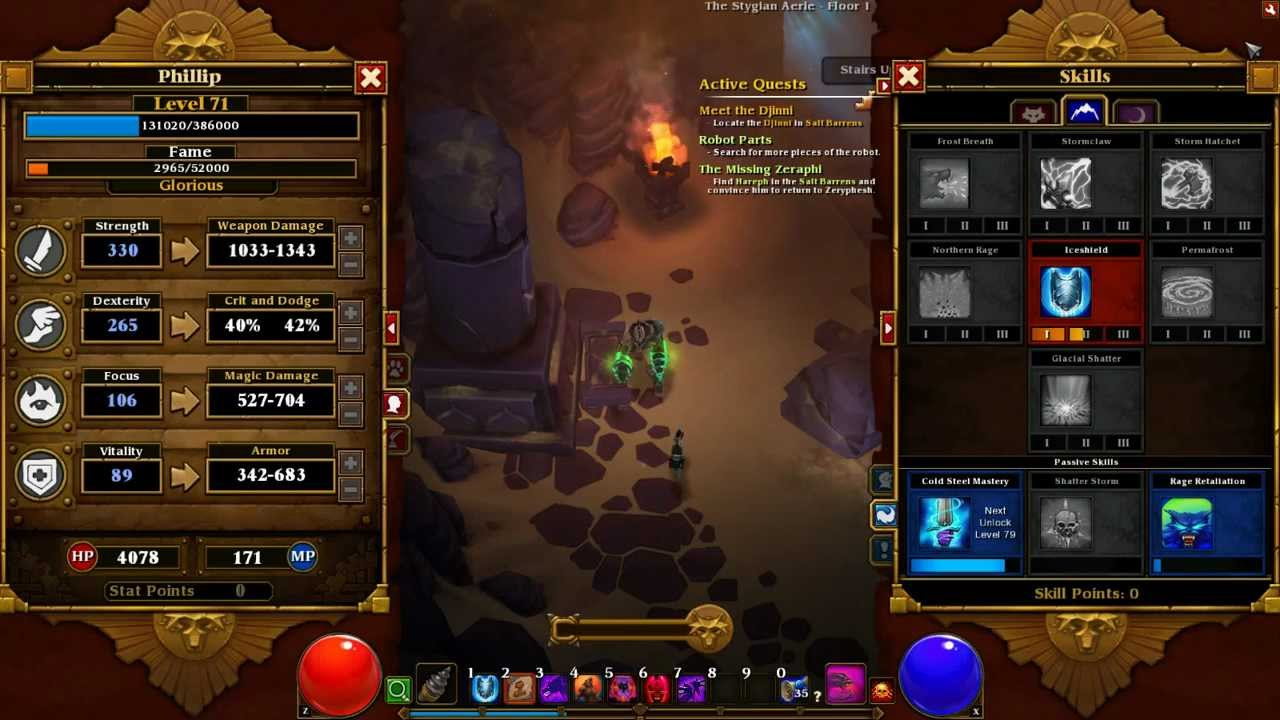 Torchlight  Build Berserker Fr