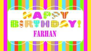 Farhan   Wishes & Mensajes - Happy Birthday