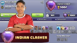 Asia's Best TH7 Pusher | Clash of Clans - COC