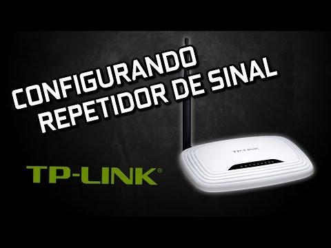 CONFIGURANDO ROTEADOR TP-LINK COMO REPETIDOR DE SINAL WDS