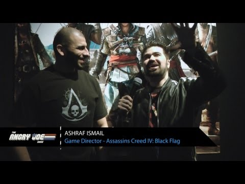Assassins Creed IV: Black Flag - AJ Interviews