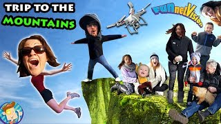 FUNnel Vision Mountain!  4000ft Up Family Vlog Trip