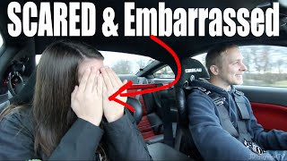 900HP GT500 REACTION Scared her to Embarrassment