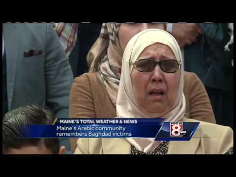 Vigil held for Iraq bombing victims in Portland