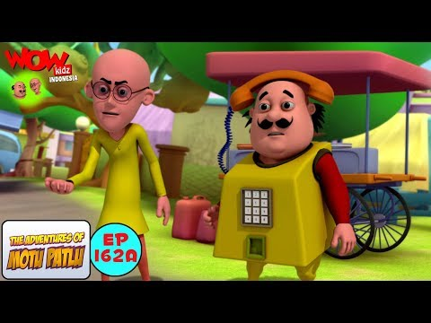 Telepon Motu - Motu Patlu dalam Bahasa - Animasi 3D Kartun thumbnail