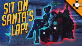 Overwatch Funny & Epic Moments 114 - SIT ON SANTA'S LAP! - Highlights Montage