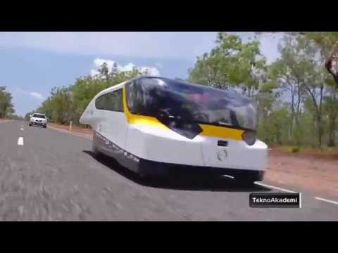 Teknoloji - Güneş Enerjili Araba 1