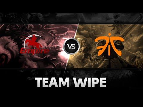 Team wipe by Team Empire vs Fnatic @D2 Champions League S4