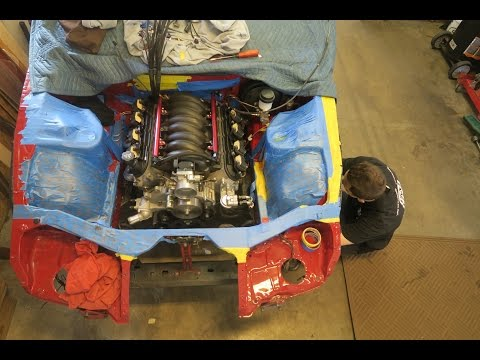 300zx V8 Swap 5: ITS IN!!