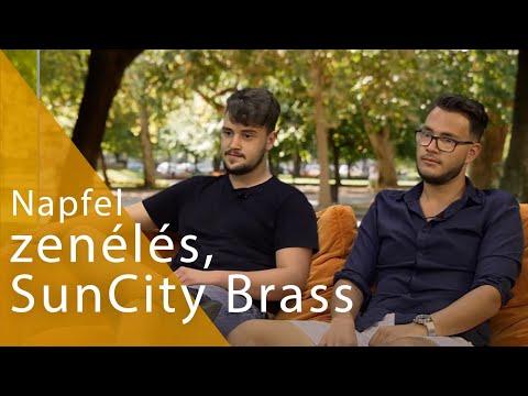 Modern zene régi hangszerekkel - Beszélgetés a SunCity Brass zenekarral | egyetem tv | Napfel